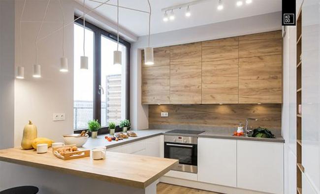 Reforma de cocina pequeña en forma de U – Your Home Building Company ...